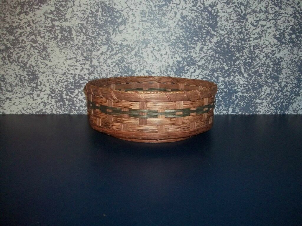 AMISH COUNTRY COLLECTIBLE 10  LAZY SUSAN BASKET