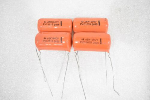 CORNELL DUBILIER PVC1615 FILM CAPACITORS 0.05uF 1600V LOT OF 4