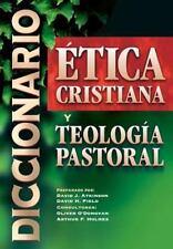 NEW - Diccionario de etica cristiana y teologia pastoral (Spanish Edition)