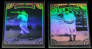 1992-Whitehall-Collection-Legends-to-Life-HOLOGRAM-set-Babe-Ruth-Ty-Cobb-Gehrig