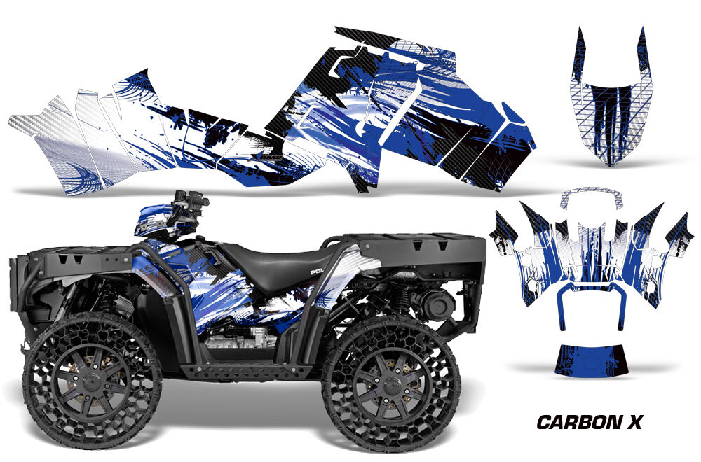 Atv Grafik Grafik Grafik Kit Sticker für Polaris Sportsman Wv850 14-15 Carbonx U 167b5b