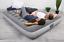 """12"""" air mattress built-in ac pump & pillow - soft comfortable twin/full/queen"""