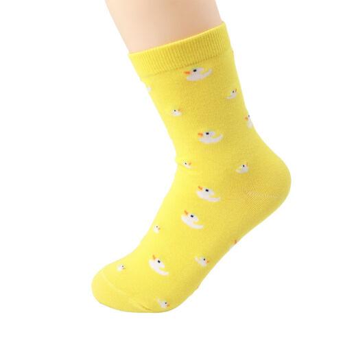 Warm Sock Duck Animal Socks Delicate Women Winter Autumn Soft Cotton Casual Sock