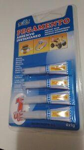 Kleber-Sofort-Schnell-4-x-1-Gramm-Kleber-Super-Glue