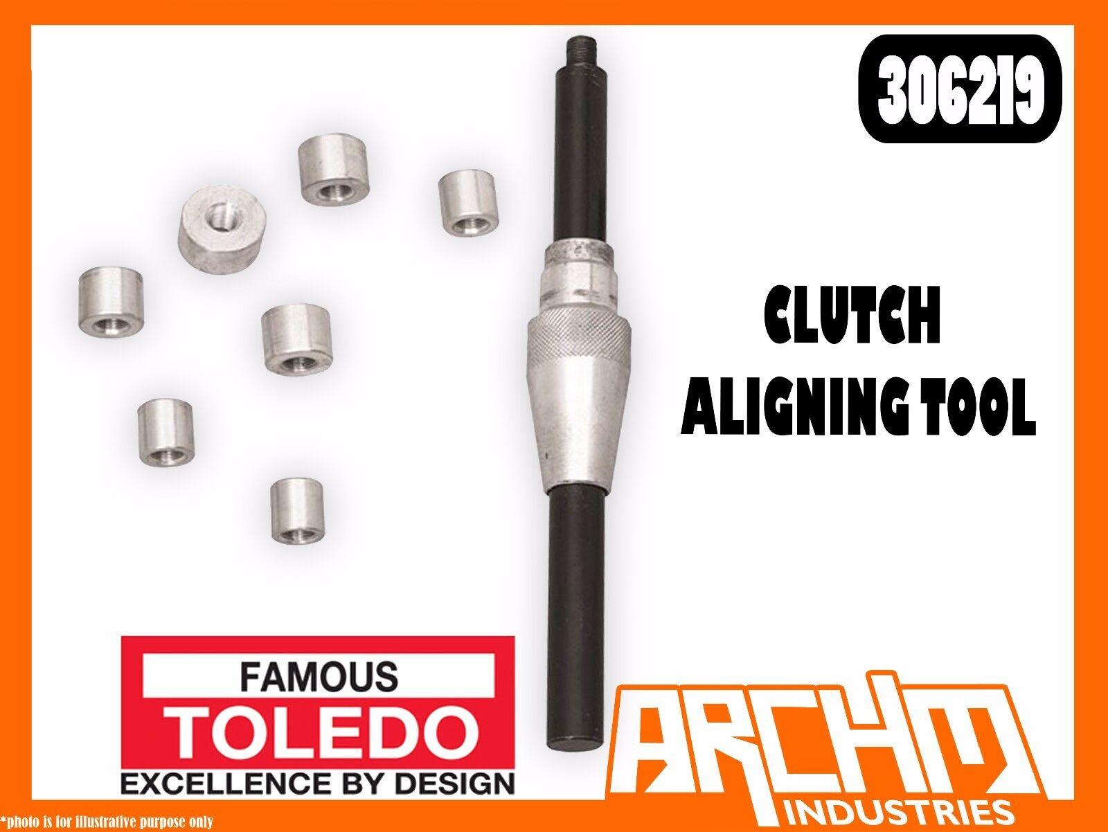 TOLEDO 306219 - CLUTCH ALIGNING TOOL - 15, 16, 17, 19, 20, 21, 25MM ADAPTORS