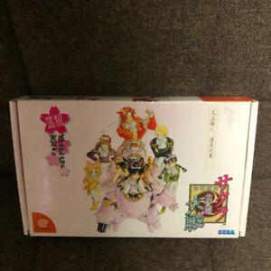 Dreamcast Sakura Guerre Primo Limite Edizione Visiva Memoria Incluso Set