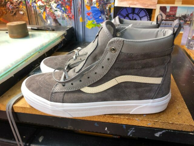 VANS Sk8-hi MTE Rabbit Frost Gray Suede Size US 9.5 Men's Vn0a33txrj4 Grey