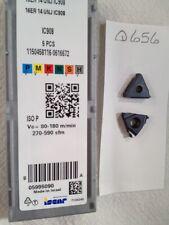 5 New Iscar 16 Er 14 Unj Threading Carbide Inserts Grade Ic908 Q656