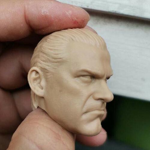 """Blank Hot 1//6 Scale Frank Castle The Punish Head Sculpt Unpainted Fit 12/"""" Figure"""
