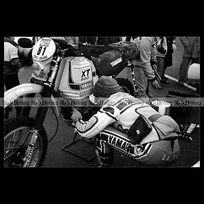 #phm.56425 Photo JACK MIDDELBURG DUTCH TT ASSEN 1980 Motorcycle Moto YAMAHA