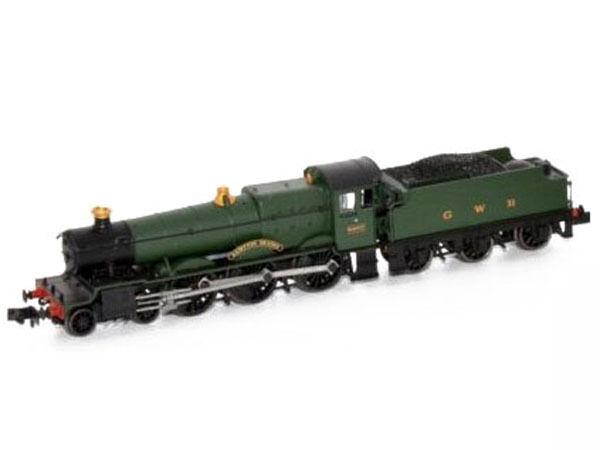 Dapol 2s-019-002 - máquina de vapor Grange class Bampton Grange GWR 6802-pista N-nuevo