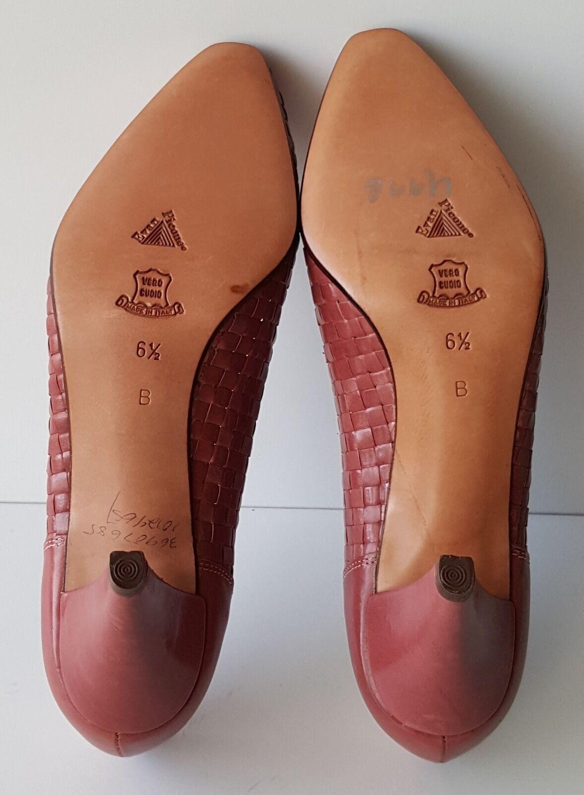 Evan Picone High 6 Heels Schuhes Made in  Größe 6 High 1/2 B 6c7d73