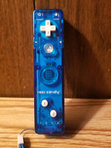 Rock Candy Nintendo Wii Remote Controller (Blue)