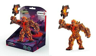 eldrador personaggio del gioco SCHLEICH 42493 animali di fuoco lava mondo fantasy
