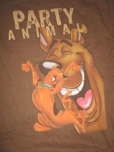 """Hanna-Barbera SCOOBY DOO """"PARTY ANIMAL"""" (LG) T-Shirt"""