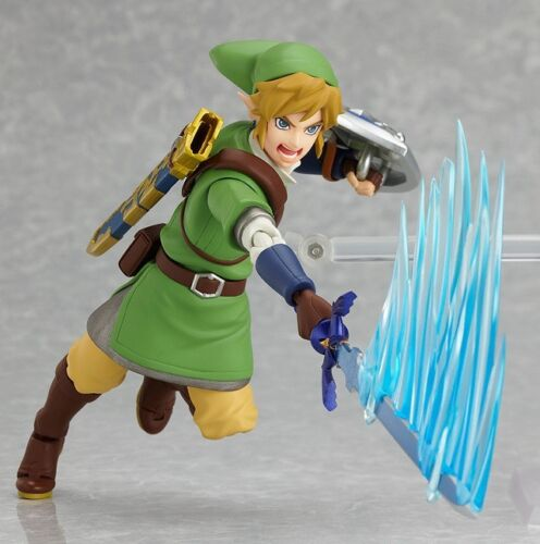 The Legend of Zelda Skyward Sword Link Action Figure MAX Factory Figma #153 NIB