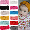 Baby Kids Cute Bow Hairband Chic Knitted Headwear Hair Accessories Gift