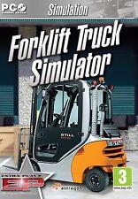 Carrello ELEVATORE Truck Simulator (PC CD) NUOVO E SIGILLATO