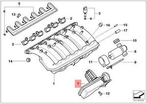 Details about Genuine BMW Air Intake Manifold Flap Adjuster Unit DISA Valve  OEM 11617544806