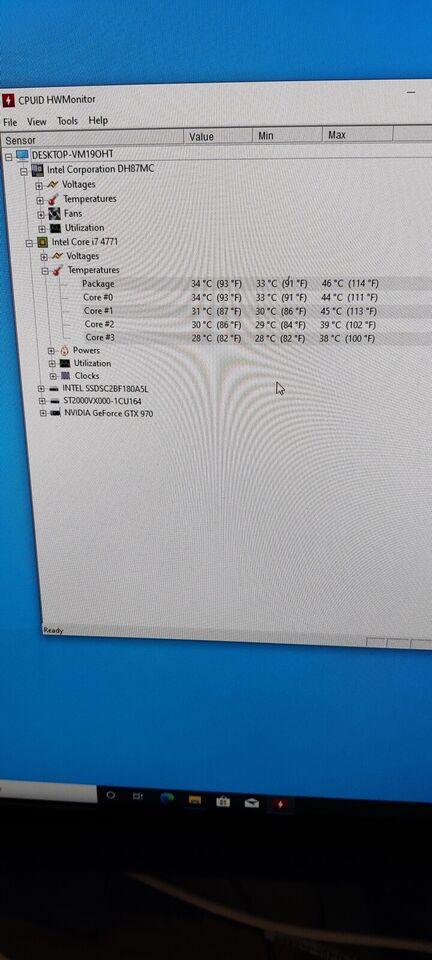 Selvbyg, I7-4771, 3,50 Ghz