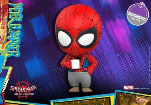 Hot Toys Spider-Man nel SPIDER-Verse Cosbaby artigianale 638 Peter Park Figura Toys