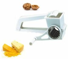 Grater Rotary White Stainlees Steel Drum Cheese Wegetable Gadget Kitchen Hand