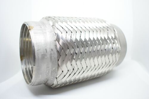 """3/"""" x 6/"""" Exhaust Flexi Inc Ends 100/% Stainless Steel Weldon 76mm x 150mm Flex"""