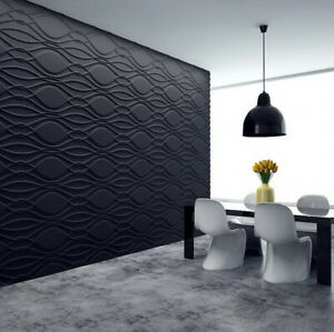 Art Panels Decor 3D Plaster Wall Stone Mold Tile Form ABS Plastic Gypsum Aster