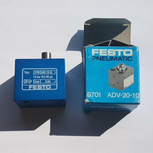 MWST worldwide ship FESTO ADV-20-10 9701 Kompaktzylinder RECHNUNG NEU//OVP