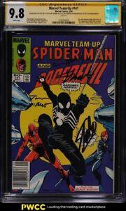 1984-Marvel-Comics-Marvel-Team-Up-141-Stan-Lee-Art-Adams-SS-AUTO-CGC-9-8