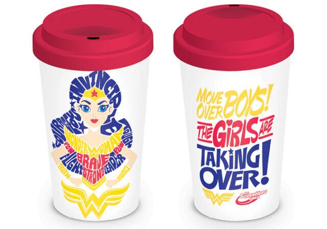 DC Super Hero Girls, Girls Are Taking Over Travel Mug DC Comics