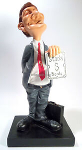 Character-Figurine-039-Managers-Broker-039-Series-Maxi-Caricature-Mestieri-Collection