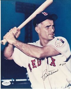 MLB Baseball Bobby Doerr HOF Red Sox autographed signed 8x10 photo JSA
