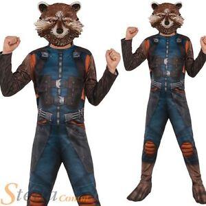 Boys rocket raccoon costume guardians of the galaxy 2 fancy dress image is loading boys rocket raccoon costume guardians of the galaxy solutioingenieria Gallery