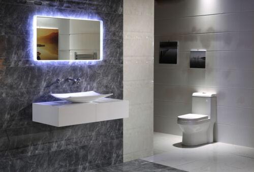 LED-éclairage touch Interrupteur Miroir de salle gs044 Lumière Miroir Miroir Mural ip44