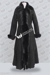 Caricamento dell immagine in corso nero -lungo-donna-agnello-camoscio-DONNA-TOSCANA-pelle- e59814209db