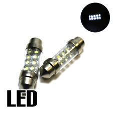 2x Audi A4 B5 1.9 Xenon White LED Licence Number Plate Upgrade Light Bulbs XE8