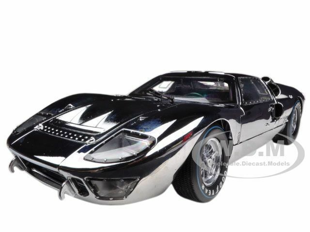 1966 FORD GT40 GT 40 40 40 CHROME LIMITED TO 500PC 1 18 BY SHELBY COLLECTIBLES SC413 6950b9