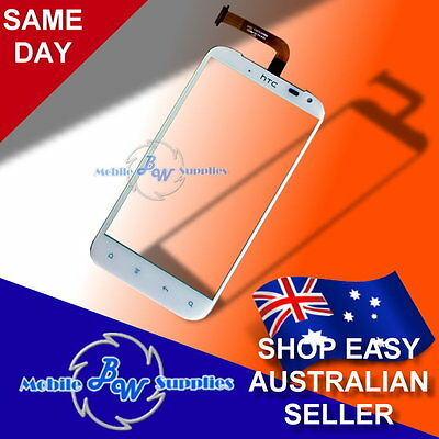 Genuine 100% Digitizer Touch Glass Screen for HTC Sensation XL G21 White