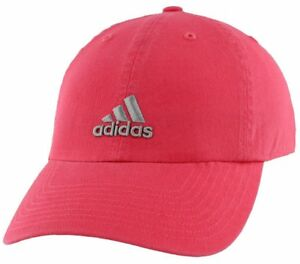 ADIDAS WOMEN S FIT CLIMALITE SWEAT NOTHING WMS SATURDAY CAP REALPINK ... 4ca3727dd882