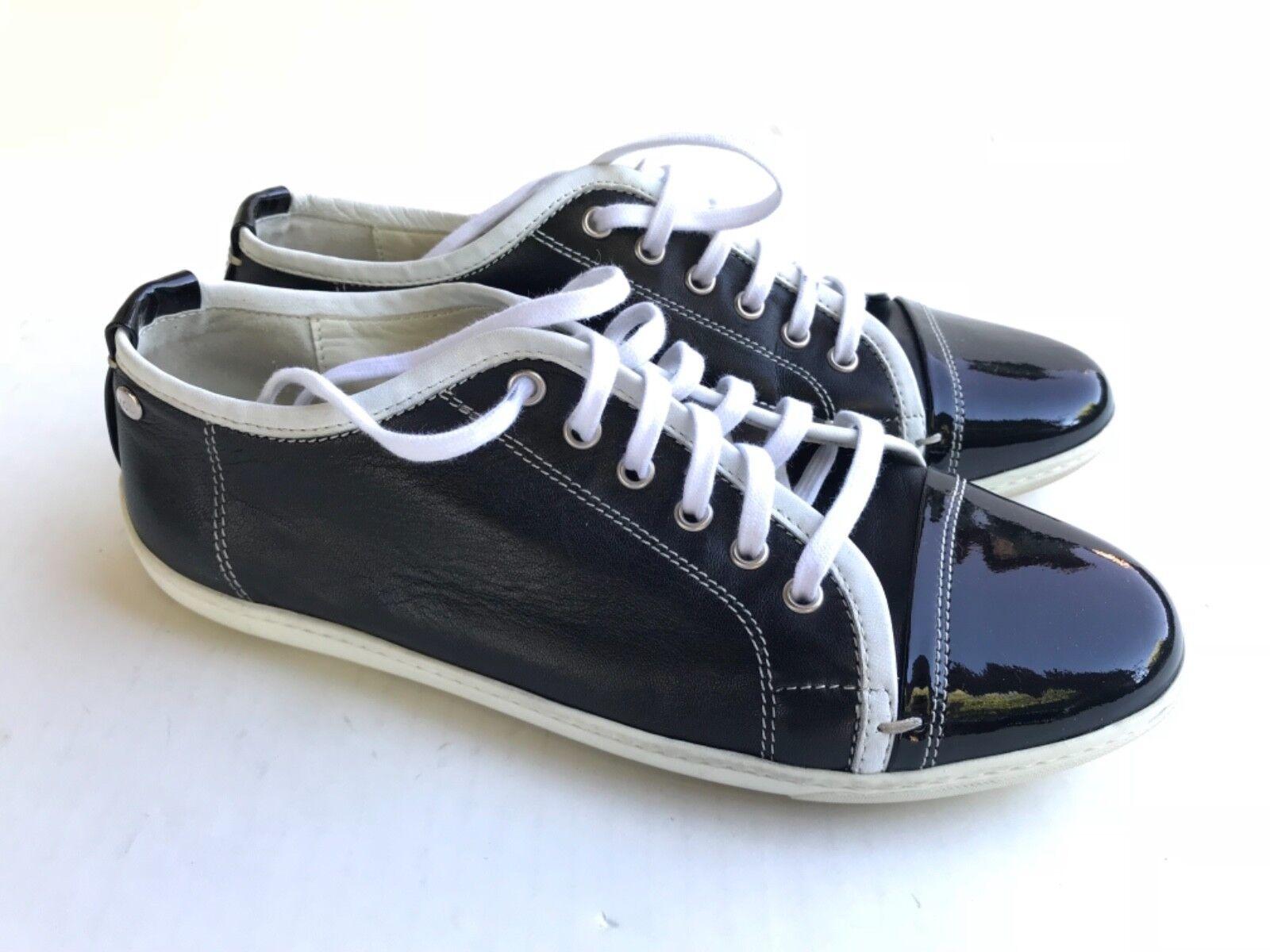 AGL Attilio Giusti Leombruni  Patent Leather Oxford FlatsLace Sneaker shoes