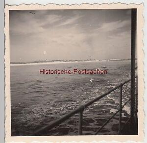 (f10746) Orig. Photo Mer Du Nord, Sur Le Chemin De Hallig Hooge, Vue Du Navire 193-afficher Le Titre D'origine Gagner Une Grande Admiration