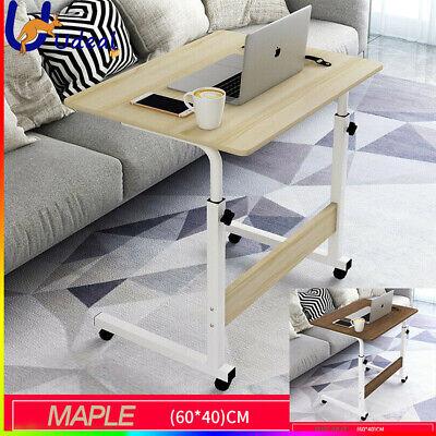 Details about  Mobile Laptop Table Computer Desk Stand Bed Adjustable Portable Office Sofa AU