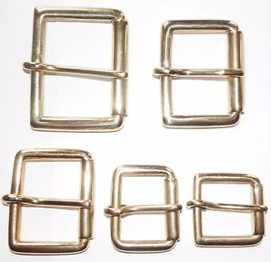 SOLID-BRASS-ROLLER-BUCKLE-2-1-3-4-1-1-2-1-1-4-1-INCH-50mm-25mm