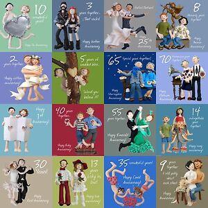 1st-a-70th-anniversario-di-matrimonio-carta-10th-25th-30th-40th-50th-60th-SANTO-Maccarello