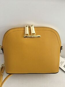 Mustard Dome Crossbody Nwt Msrp 68