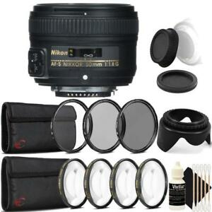 Nikon-AF-S-NIKKOR-50mm-f-1-8G-Lens-with-Accessory-Kit-For-Nikon-DSLR-Cameras