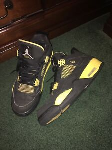detailed look b576b 81812 Image is loading 2012-NIKE-AIR-JORDAN-IV-4-RETRO-THUNDER-