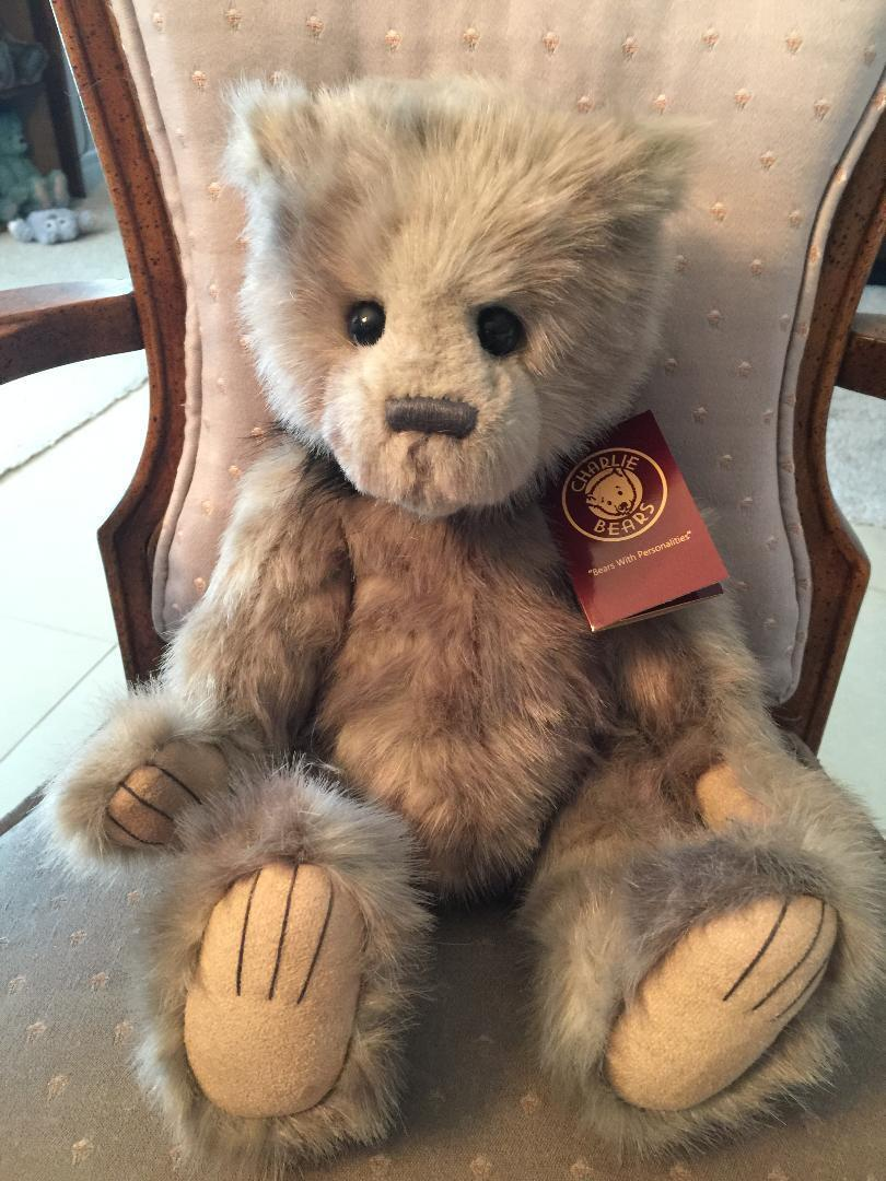 ERNEST CHARLIE BEARS 2018 PLUSH * 16  NEW WITH TAGS
