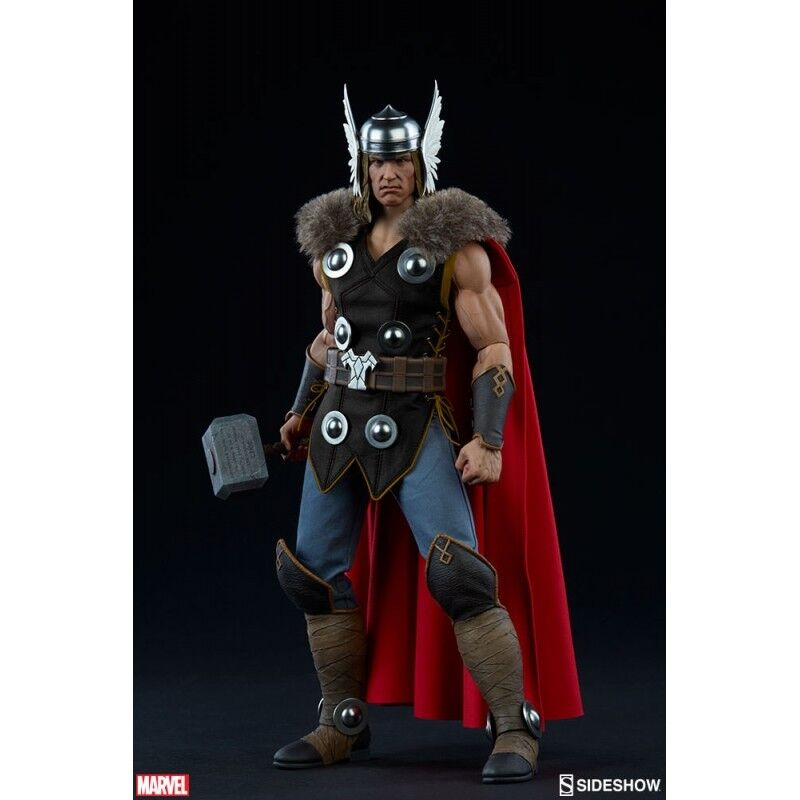 SIDESHOW MARVEL 1/6 SCALE THOR - GOD OF THUNDER SS100172